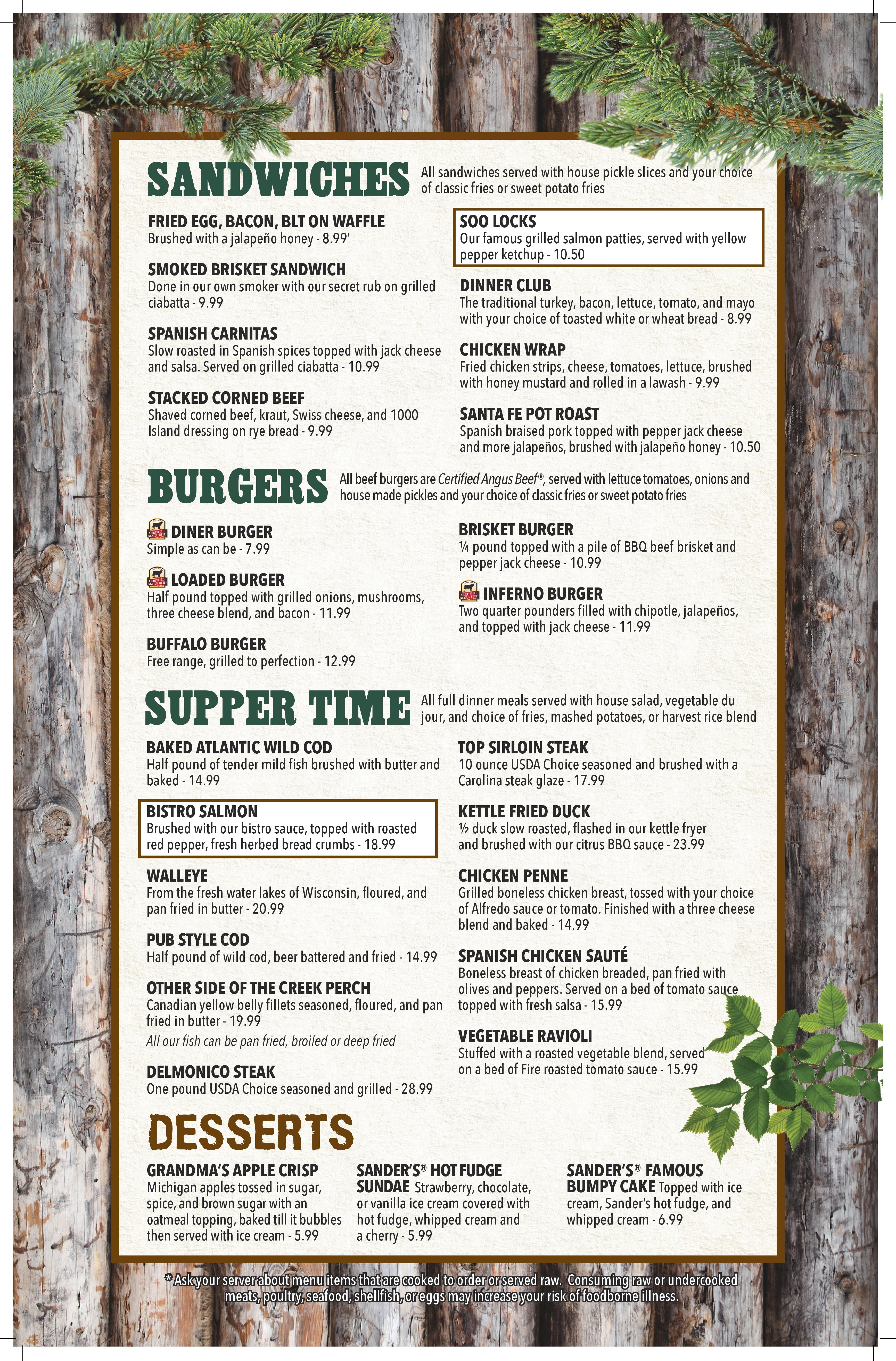 Supply house menu house plan 2017 for Motor supply co menu